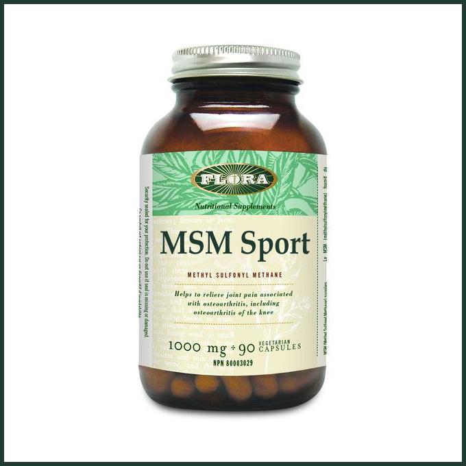 MSM Sport capsules